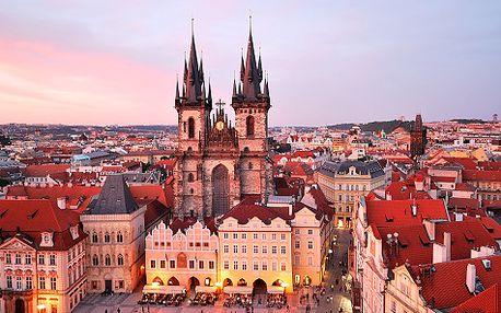 Praha pro DVA v luxusním Hotelu Relax Inn**** s platností do listopadu