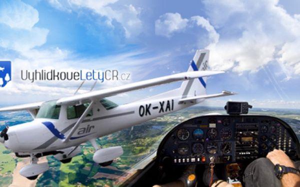 Staňte se pilotem letounu Cessna 152! 10 až 40 minut samotné pilotáže za doprovodu zkušeného instruktora již od neuvěřitelných 999 Kč! Létejte v oblacích se slevou 50%!