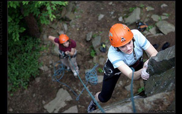 Dvoudenní kurz horolezectví - skály u Děčína