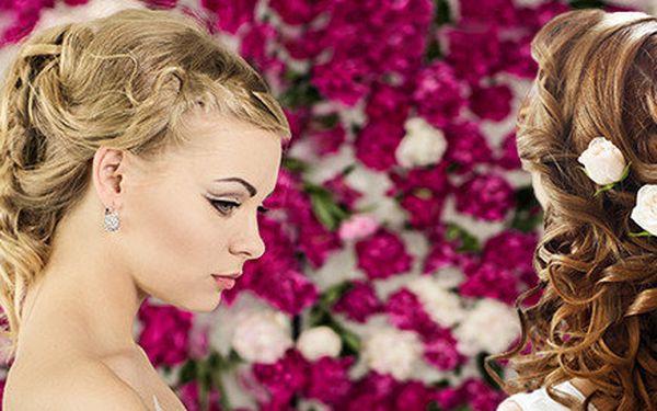 Dokonalý svatební účes pro nevěsty a zdarma i pro druhou osobu