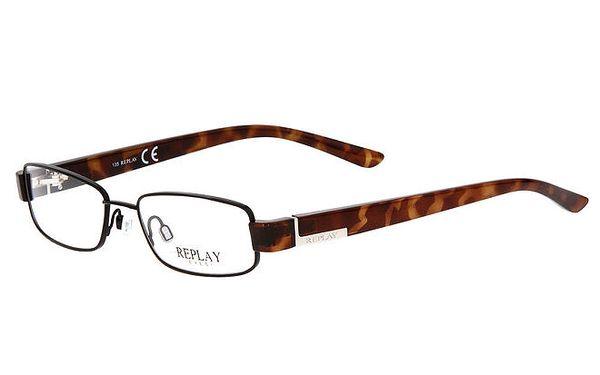 Pánské brýle s jemnými obroučkami Replay