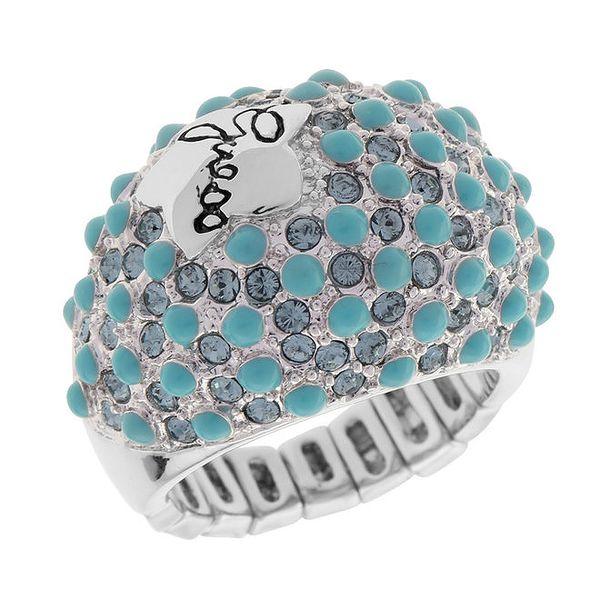 Dámský prsten s tyrkysovými kameny Guess
