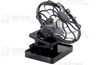 Mini solární ventilátor s klipem a poštovné ZDARMA! - 16410472