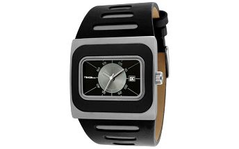 Analogové hodinky s hranatým ciferníkem RG512