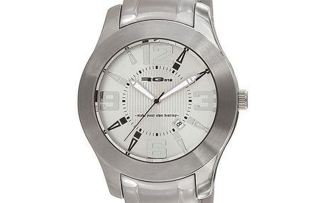 Stříbrné ocelové hodinky RG512