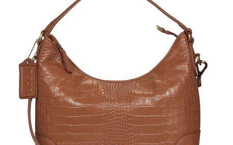 Dámská koňakově hnědá kabelka POON Bags