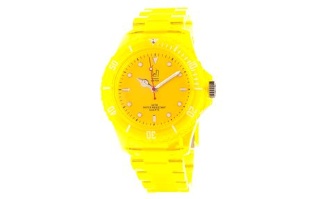 Zářivě žluté hodinky Senwatch