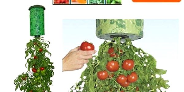 Topsy Turvy závěsný vak na rajčata či jahody