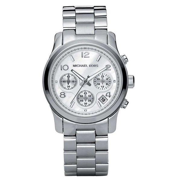 Dámské hodinky z ušlechtilé oceli s chronografem Michael Kors