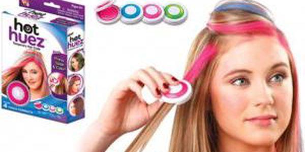Smývatelné barvy na vlasy Hot Huez