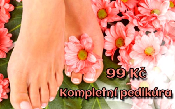 KOMPLETNÍ PEDIKÚRA včetně lakování barvou dle výběru! Vše pro krásu vašich nohou: mokrá pedikúra, relaxační koupel i ošetření hydratačním krémem! Studio Lužická v centru Prahy u stanice metra Náměstí Míru!!!!!!