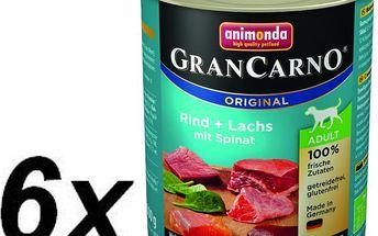 Animonda Grancarmo Adult -treska+špenát 6x800g