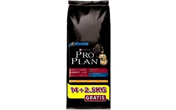 Purina Pro Plan Dog Adult Large Robust 14+2,5 kg