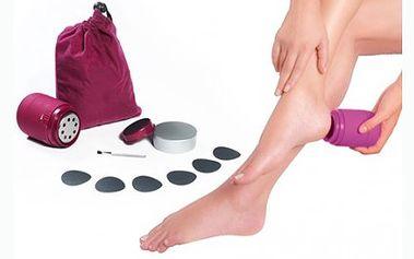 Domácí pedikúra PediPro Deluxe pro vaše dokonalé nohy a sametově hebkou kůži. Rotační nástavec, leštící kotouč a leštící polštářky pro bezchybný výsledek.