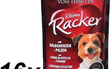 Animonda VF kapsička KLEINER RACKER - telecí srdce + houby 16 x 85 g