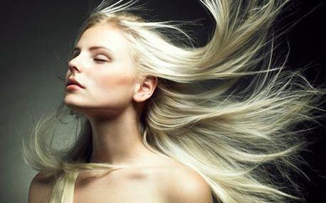 Profesionální dámský střih s mytím vlasů, foukanou...