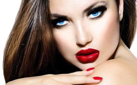 Aplikace permanentní řasenky Perfect Lashes mascar...