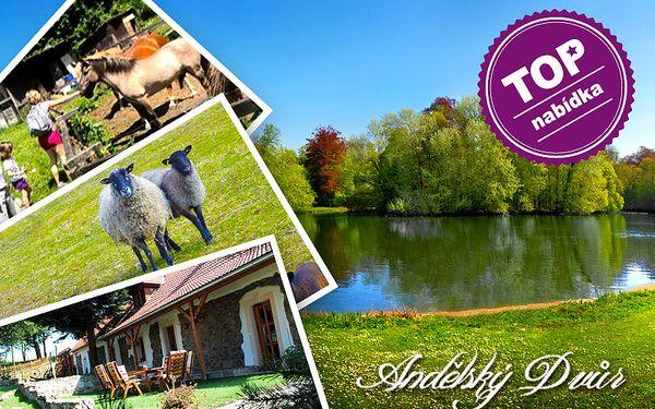 Jižní Čechy – podzimní dovolená pro dva u rybníků a zvířecí farmy