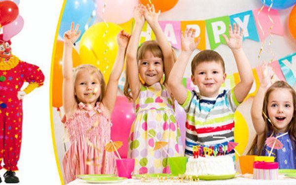 Zábavný párty program pro děti na 2 hodiny