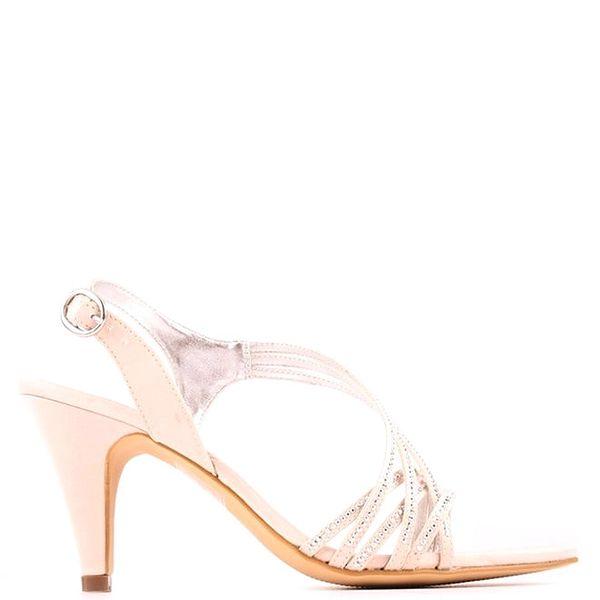 Dámské slonovinové páskové sandálky Les Provencales