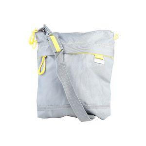 Segue crossbody šedá, žluté kontrasty