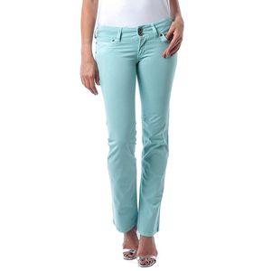 Dámské tyrkysově zelené džíny Seven LA