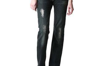 Dámské tmavě modré džíny s dekorací na kapse Replay