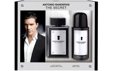 Antonio Banderas The Secret EDT dárková sada M - Edt 50ml + 150ml deodorant