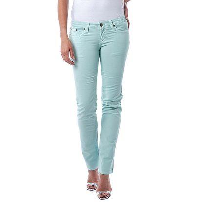 Dámské světle zelené džíny Seven LA