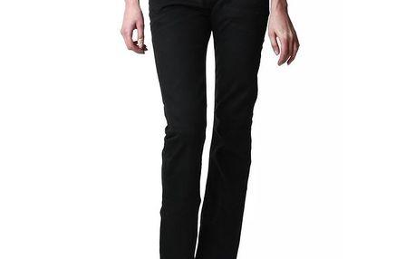 Dámské černé džíny rovného střihu Replay