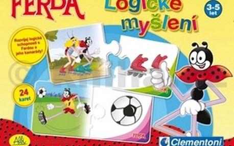Ferda Logické myšlení. Zábavná, ale zároveň i poučná hra pro děti.