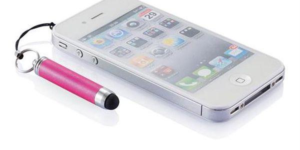 Dotykové pero na mobil přívěsek - zavěsíte na mobil a nikdy jej neztratíte!
