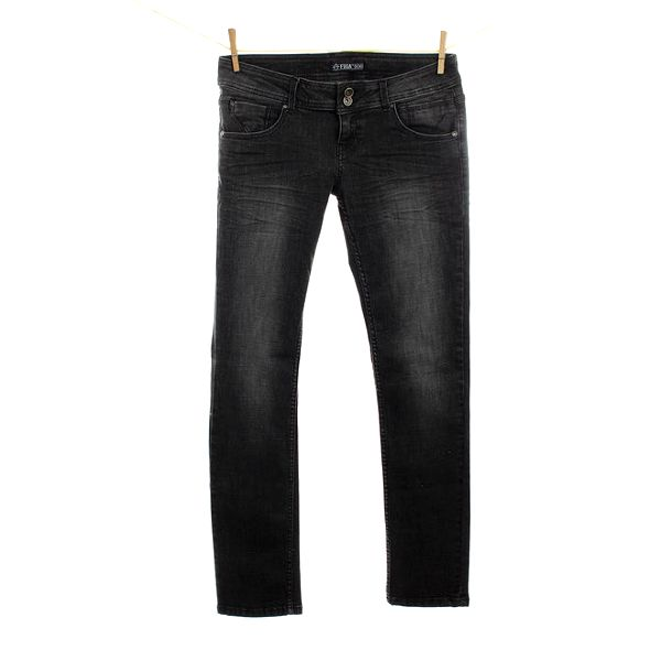 Dámské tmavě šedé džíny Fuga