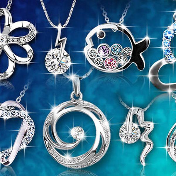 Elegantní šperky s krystaly Swarovski Elements