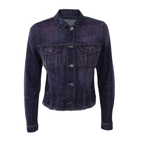 Dámská nafialovělá džínová bunda Gas