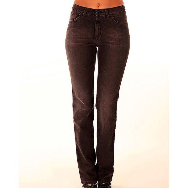Dámské hnědé džíny s rovným střihem Trussardi