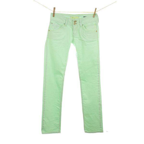 Dámské zářivě zelené džíny Fuga