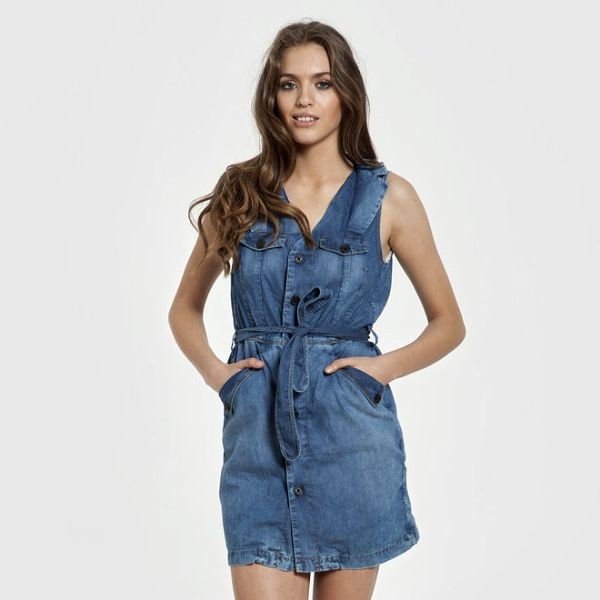 Dámské džínové šaty Big Star (XL )