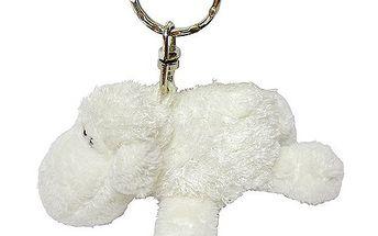 Klíčenka Sheepworld Klíčenka plyšová ovečka bílá ležící, Sheepworld