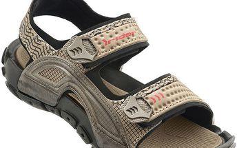 Dětské světle hnědé sandále Rider