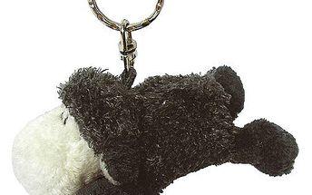 Klíčenka Sheepworld Klíčenka plyšová ovečka černá ležící, Sheepworld