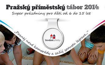 Pražský příměstský tábor 2014 na 5 dní pro děti od 6 do 15 let