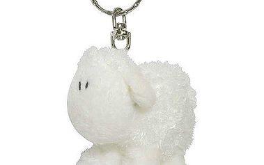 Klíčenka Sheepworld Klíčenka 6cm ovečka bílá stojící, Sheepworld