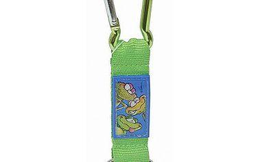 Diddl & Friends Strip mini s karabinkou Diddl a jeho přátelé -mini s karabinkou-zelený, Frogs