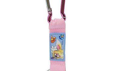 Diddl & Friends Strip mini s karabinkou Diddl a jeho přátelé -mini s karabinkou-růžový, Mimi