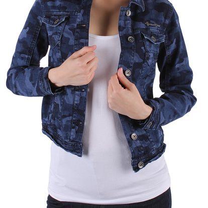Trendy dámská jeansová bunda Rock Angel