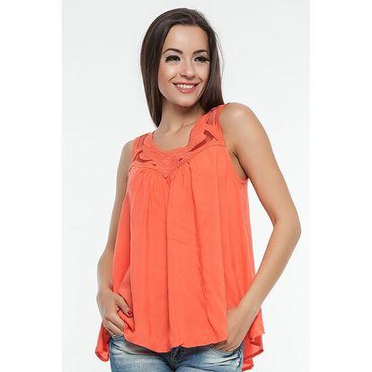 Dámská oranžová blůza Renata Biassi