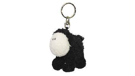 Klíčenka Sheepworld Klíčenka 6cm ovečka černá stojící, Sheepworld
