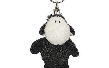 Klíčenka Sheepworld Klíčenka 8cm ovečka černá sedící, Sheepworld
