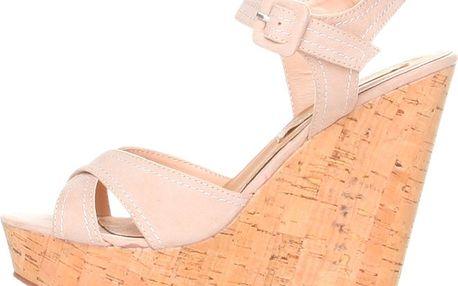 Dámské béžové sandálky na platformě Ana Lublin